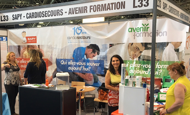 Avenir Formation au Salon Preventica de Lyon 2018
